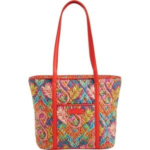 Vera Bradley Small Tote Bag -paisley in paradise